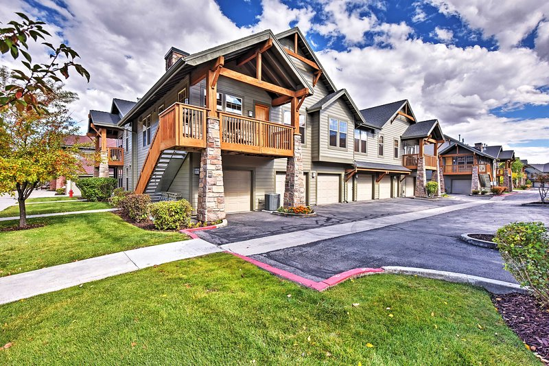Explore the great state of Utah from this Park City vacation rental condo!
