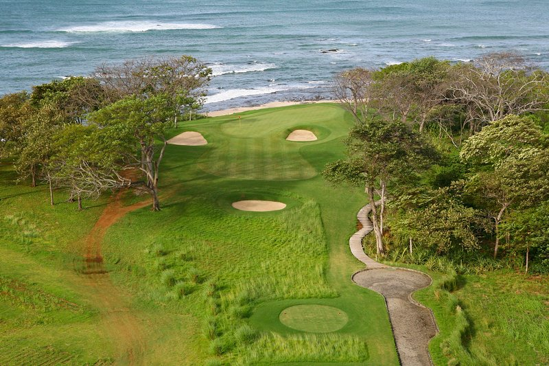 The Hacienda Pinilla Golf Course is a links-style golf course with great views