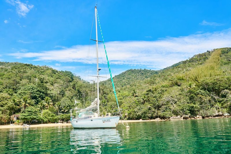 Velero en Ilha Grande, Angra dos Reis, Paraty. Incluye todas las comidas a bordo, casa vacanza a Angra Dos Reis