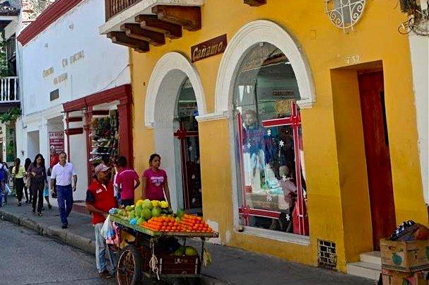 Buy your fruit from a street vendor below!