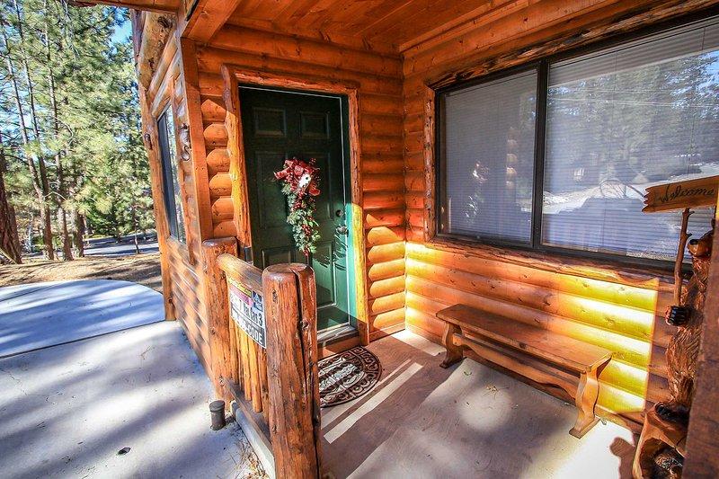 Silla, muebles, cubierta, porche, Banco