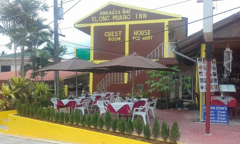 guesthouse and terrasse