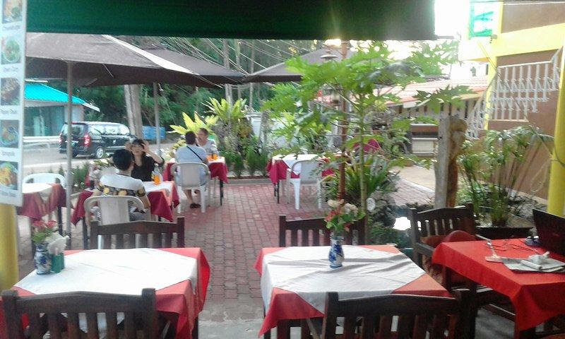 terrasse dal ristorante