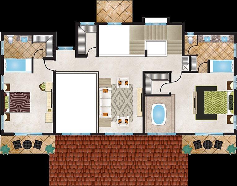 4 Bedroom 5 star villa **all inclusive, holiday rental in Santiago Province