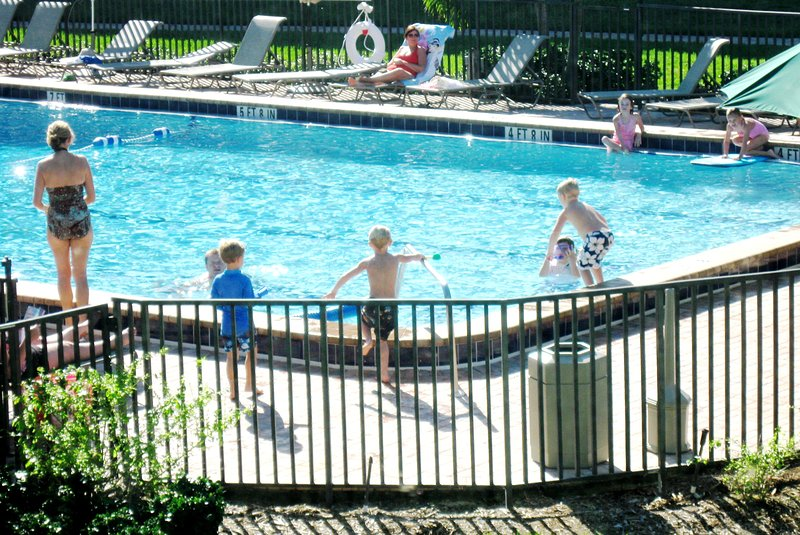 Loggerhead's large new pool is a hit with the kids, and popular with adults.