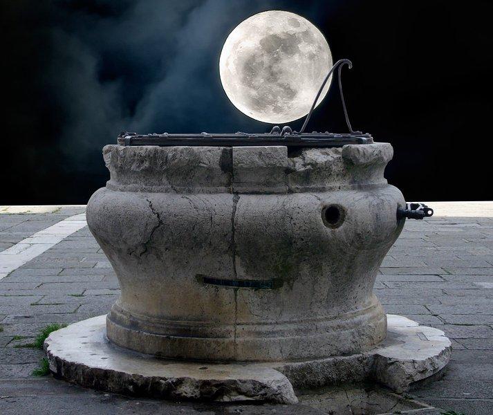 Es sobre la luna!