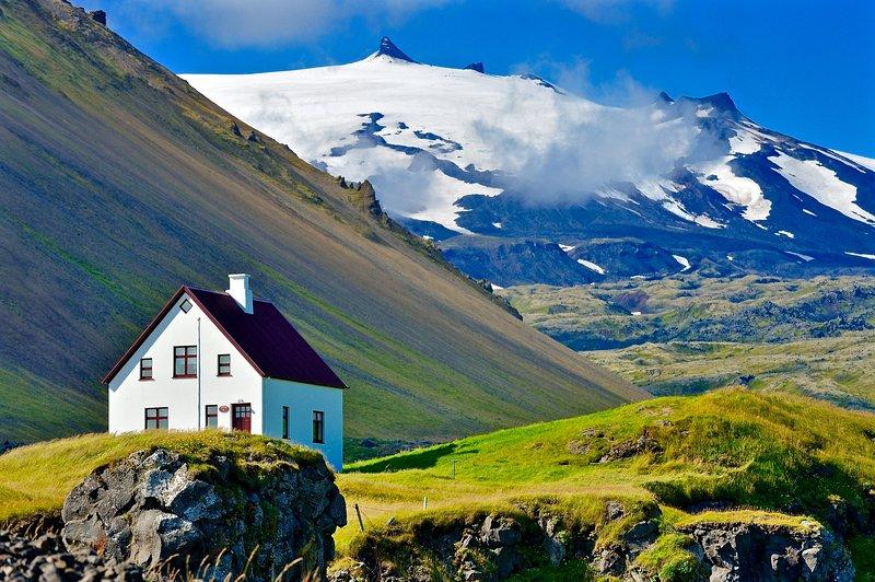Parque Nacional Snæfellsjökull en la península de Snæfellsnes
