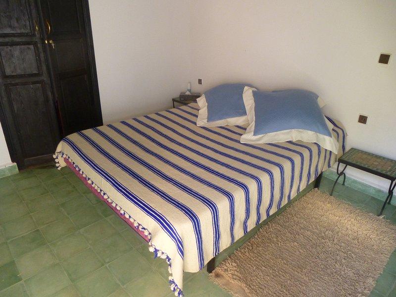 chambre Bleu saphir