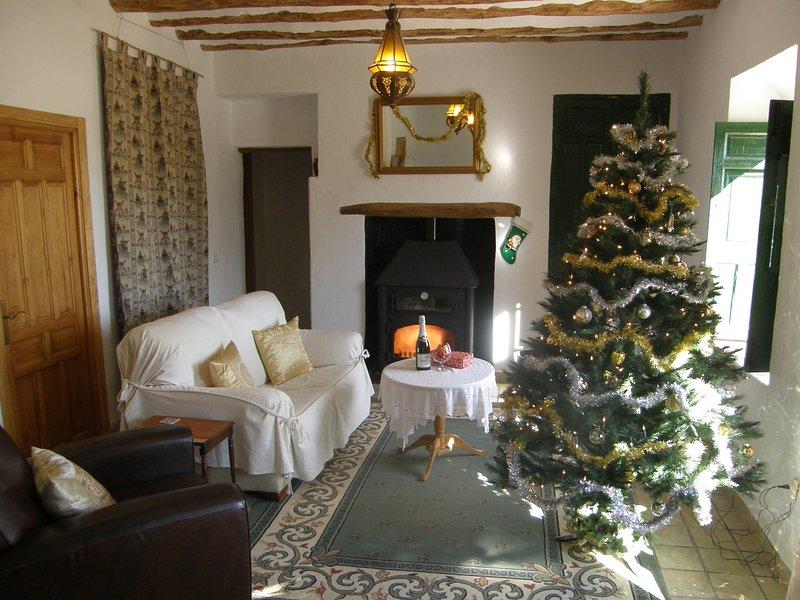 Natal e Ano Novo em Cortijo Romero