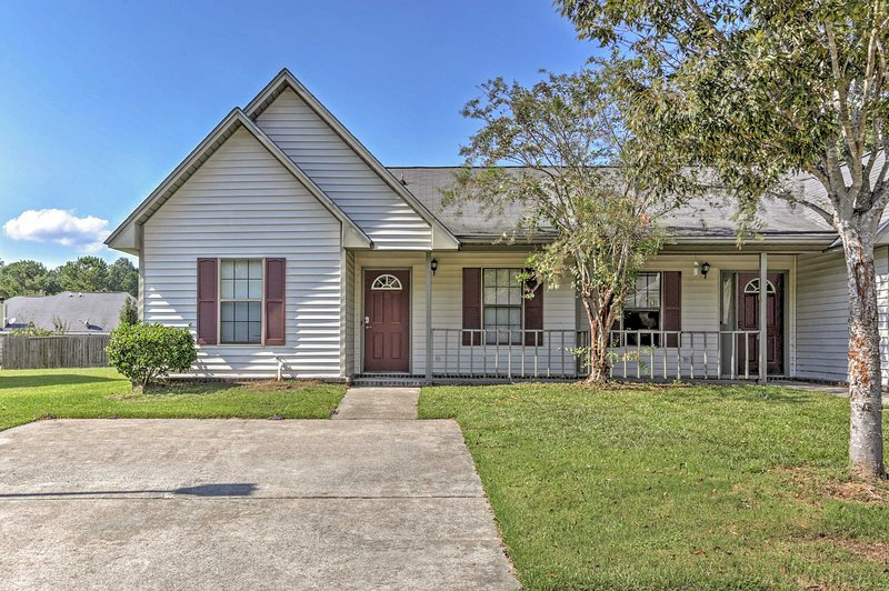 Located just outside of Charleston, this humble abode has so much to offer!