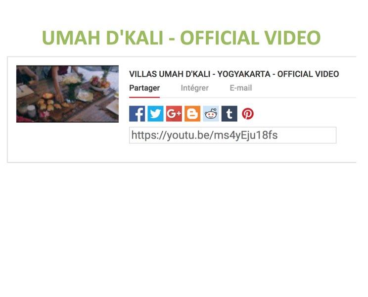 Dicover Umah D'Kali through this video