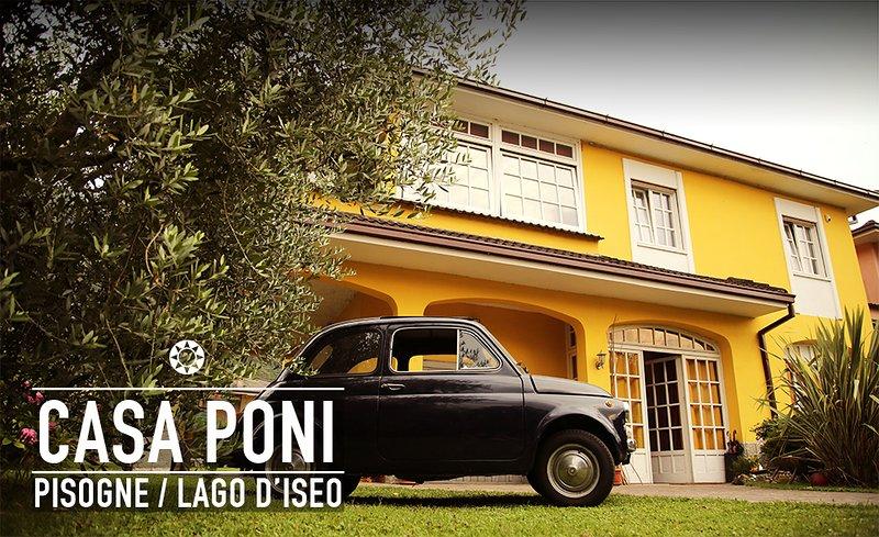Lago d'Iseo casa vacanza Poni, location de vacances à Zone