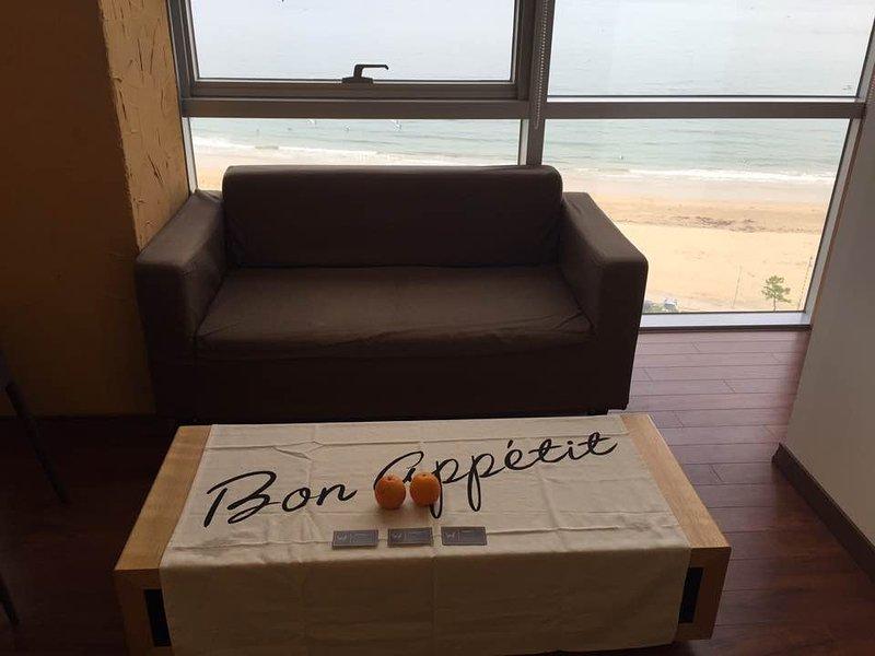 Luxury Suites Doppia - soggiorno separato e zona pranzo