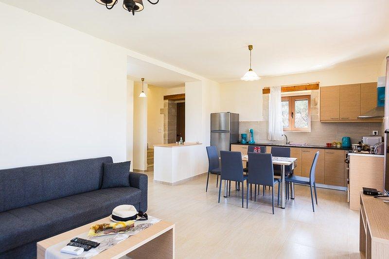 Open plan living room area!