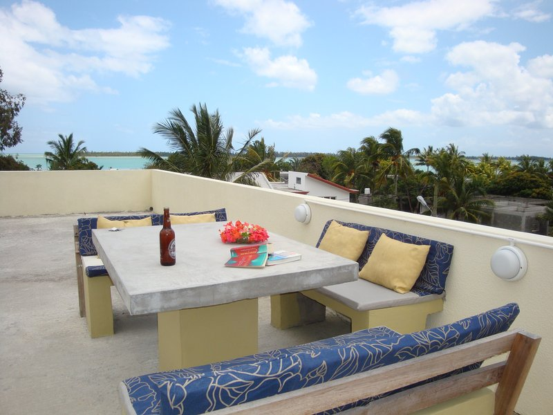 Studio E Stunning empty beaches Kiting Hiking, holiday rental in Bel Ombre