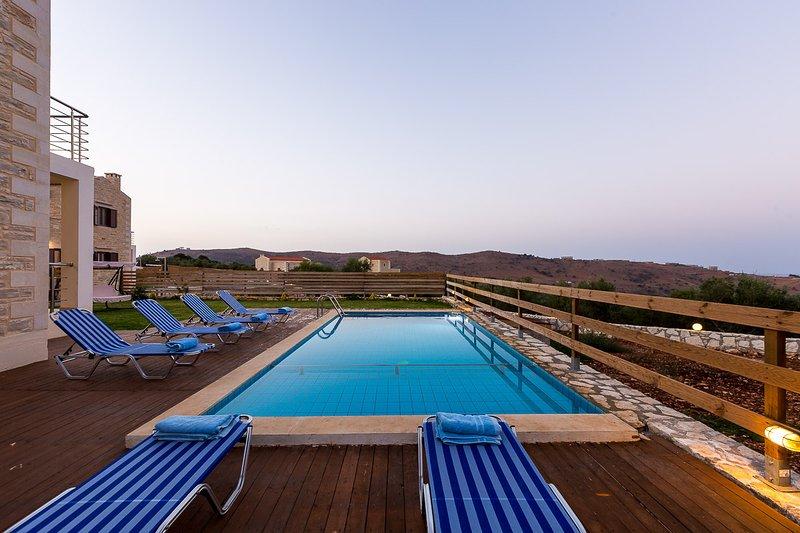 35m2 private swimming pool!