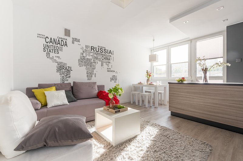 2 Bed. Apartment Apartment NISKA, vacation rental in Warsaw
