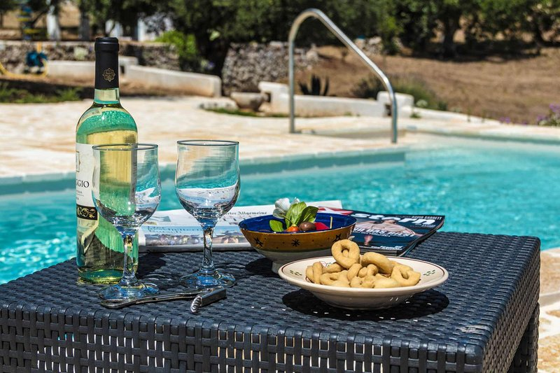 Puglia holiday house with pool in Ostuni