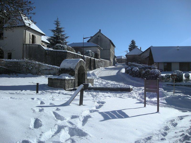 Montfaucon village