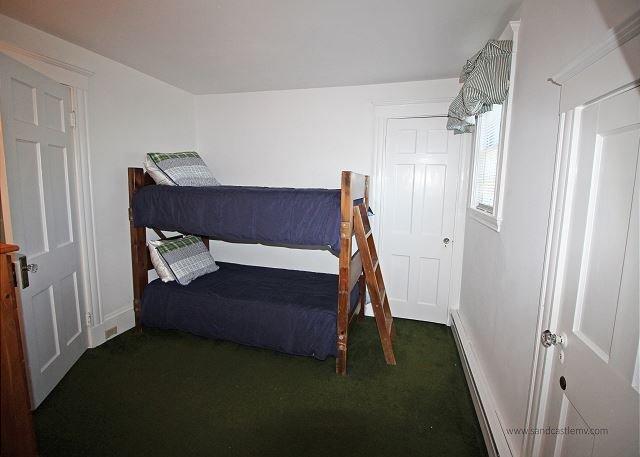 Second floor bunk bedroom
