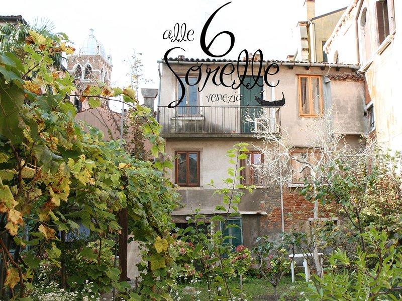 Appartamento 'alle Sei Sorelle' a Venezia, con giardino nascosto!