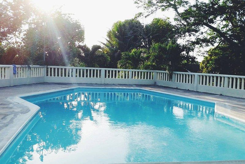 Take a dip and enjoy!