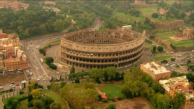 The Colosseum is just a few minutes walking from home