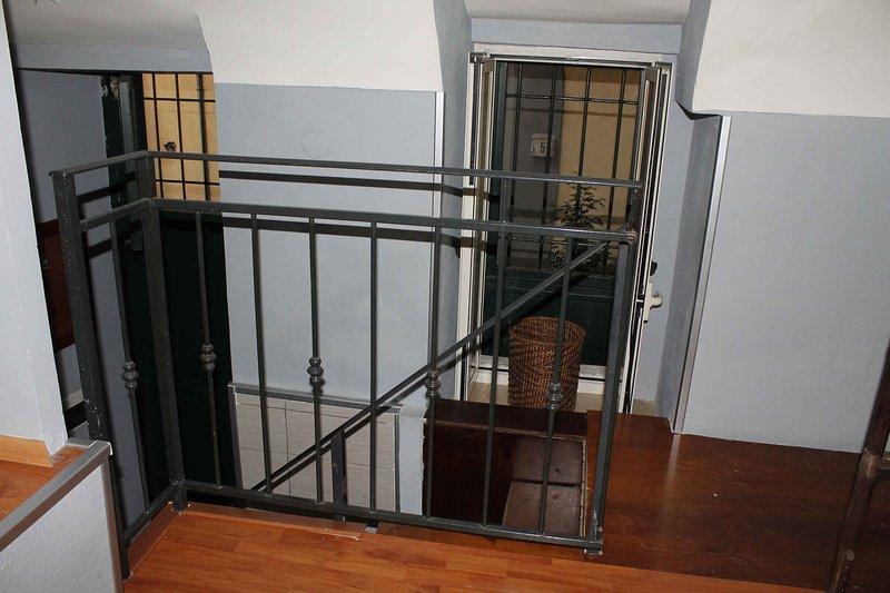 Stairs loft floor