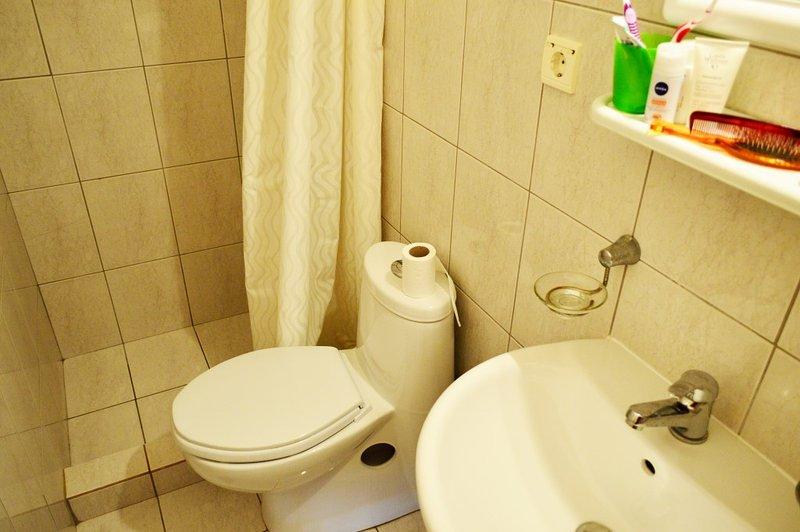 ensuite bathroom of bedroom 1 lower floor