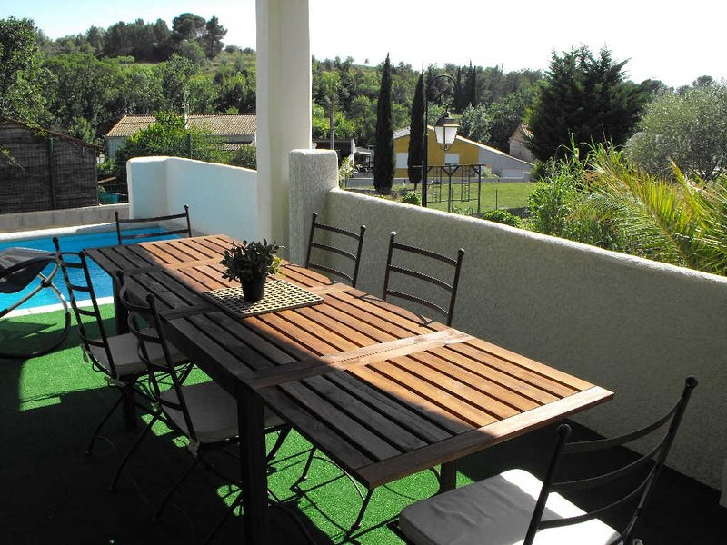 Villas in the South of France with pools;