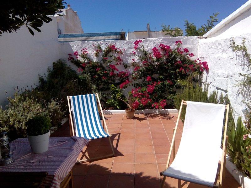 Preciosa casa de pueblo en Fornells - Menorca, location de vacances à Playas de Fornells