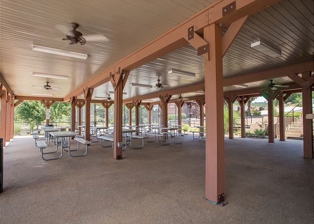 Pavilion Barbecue Area