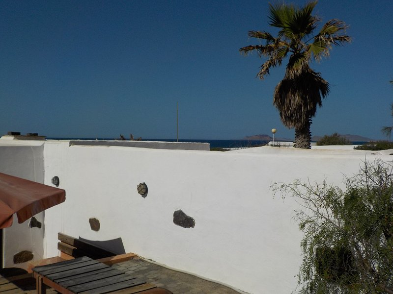 View of the island of La Graciosa