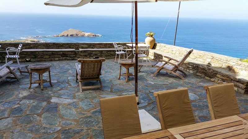 Amazing house with sea view & Wifi, holiday rental in Macinaggio