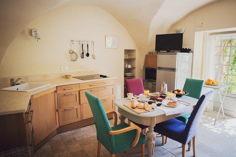 Courtyard appartment, location de vacances à Lourmarin