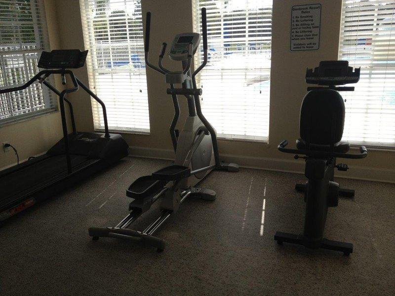 Glenbrook Resort gym cardio equipment