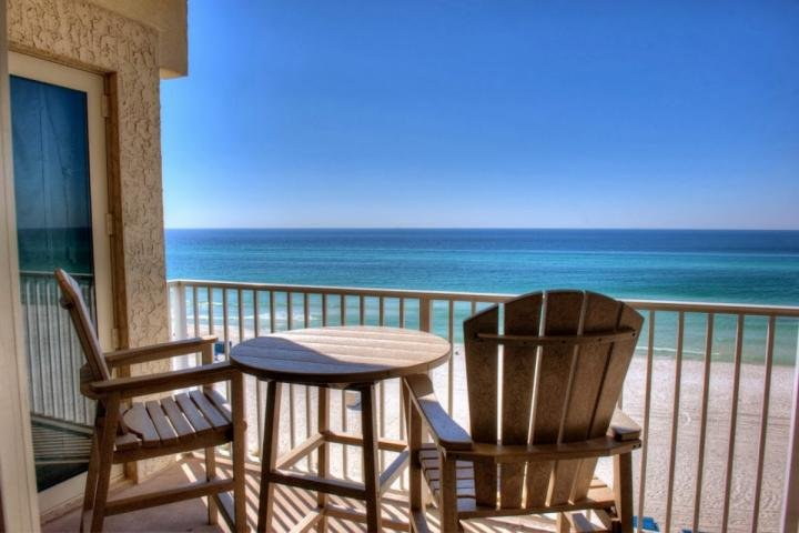 Amazing View of the Gulf of Mexico from your 5th Floor Balcony