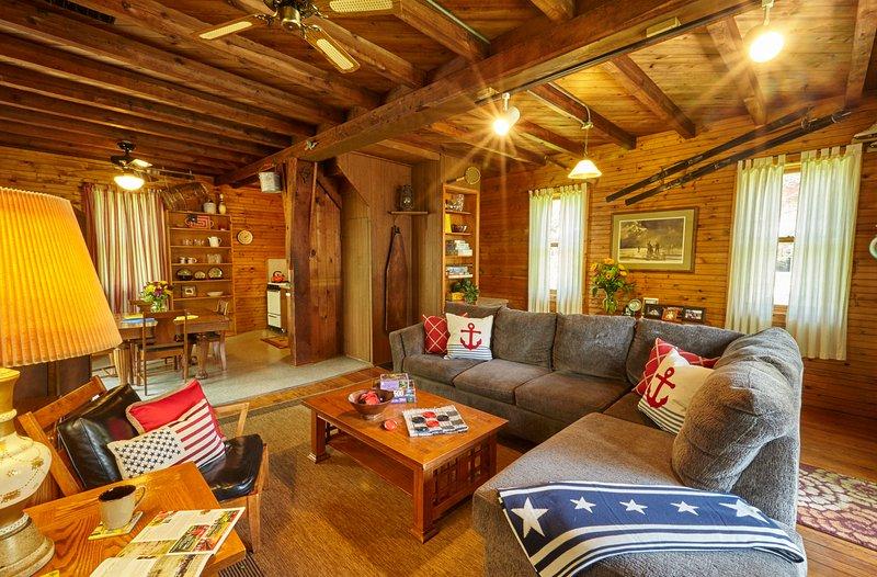 Sherwood Forest Cottage Living Room