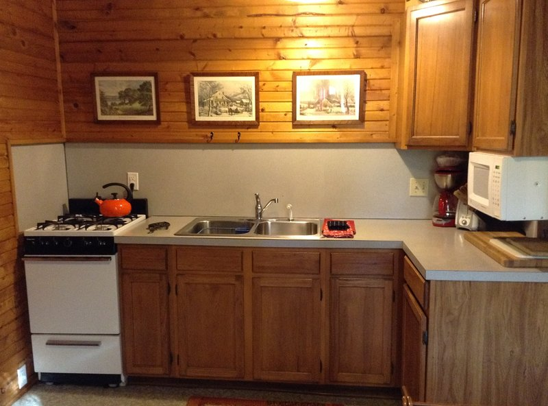 Sherwood Forest Cottage Kitchen
