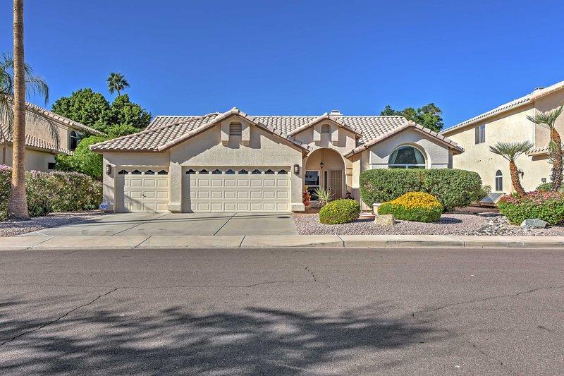 Fuga per questa splendida casa di Glendale.
