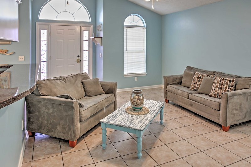 You'll have plenty of room to relax in this bright and airy interior