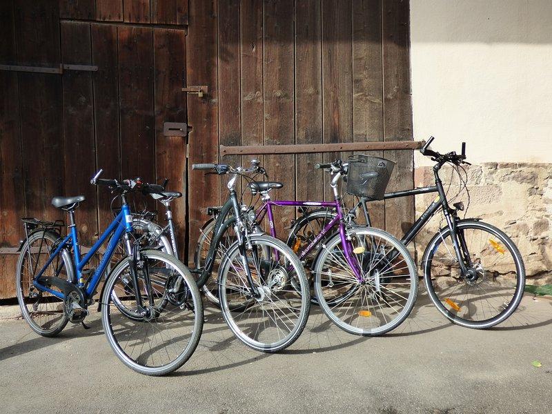 Our free bikes ...