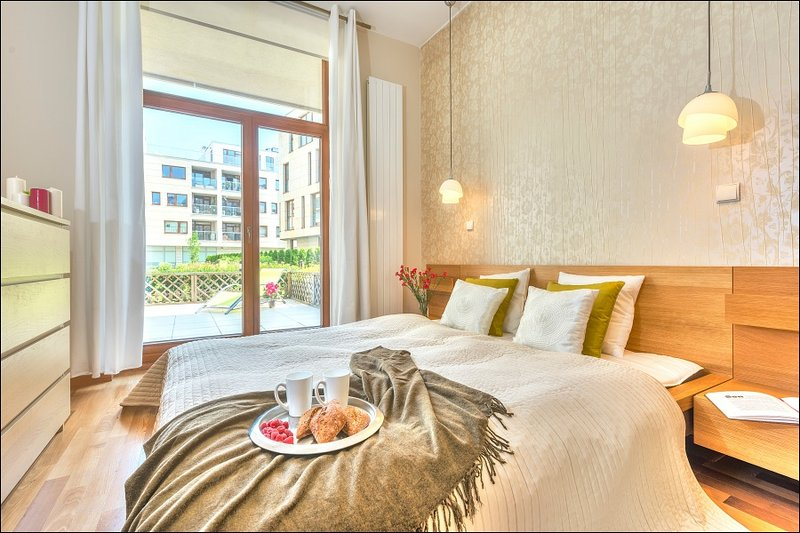 One Bed. Apartment WILANÓW 5, location de vacances à Jozefow