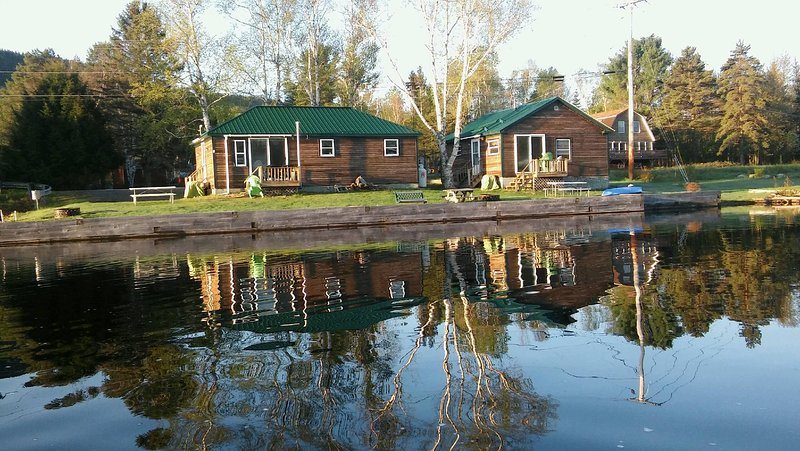 Firefly is camp on right. (listing 6247300 Allies Delight on left)  Rent both for family gathering.