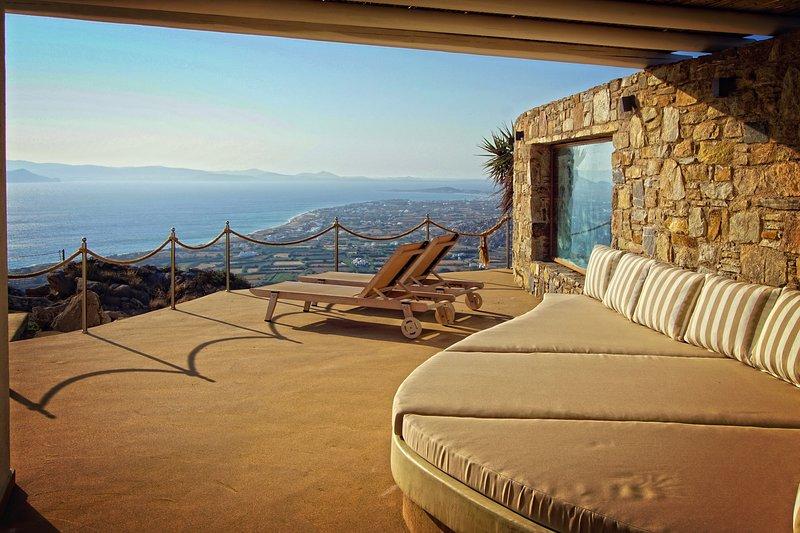Terrasse & Aussicht