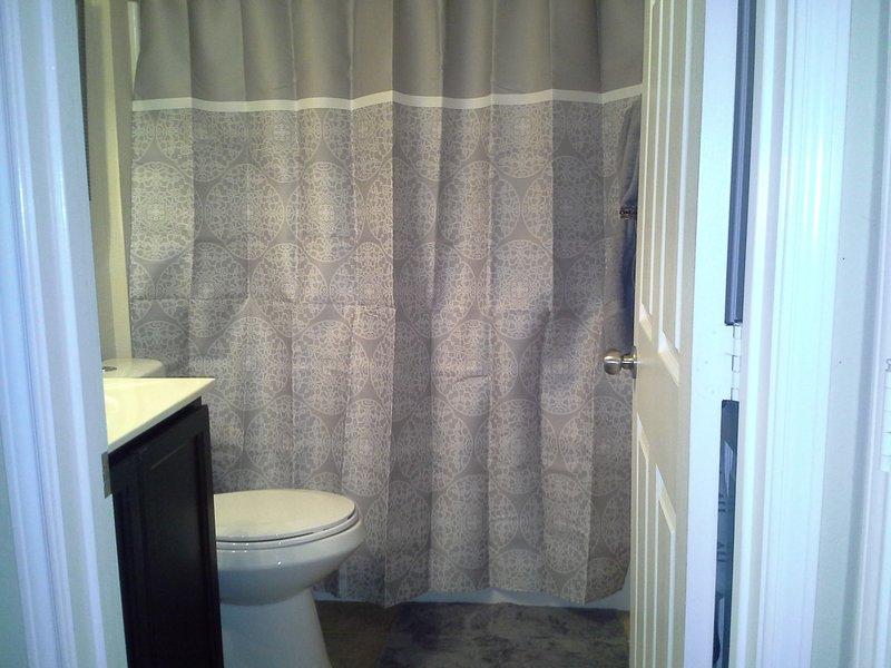 Full size Bathroom with linen closet pic2