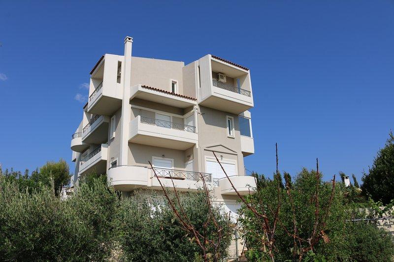 Ferienhaus nahe Athen, location de vacances à Glyka Nera