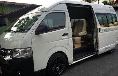 minibús privados disponibles