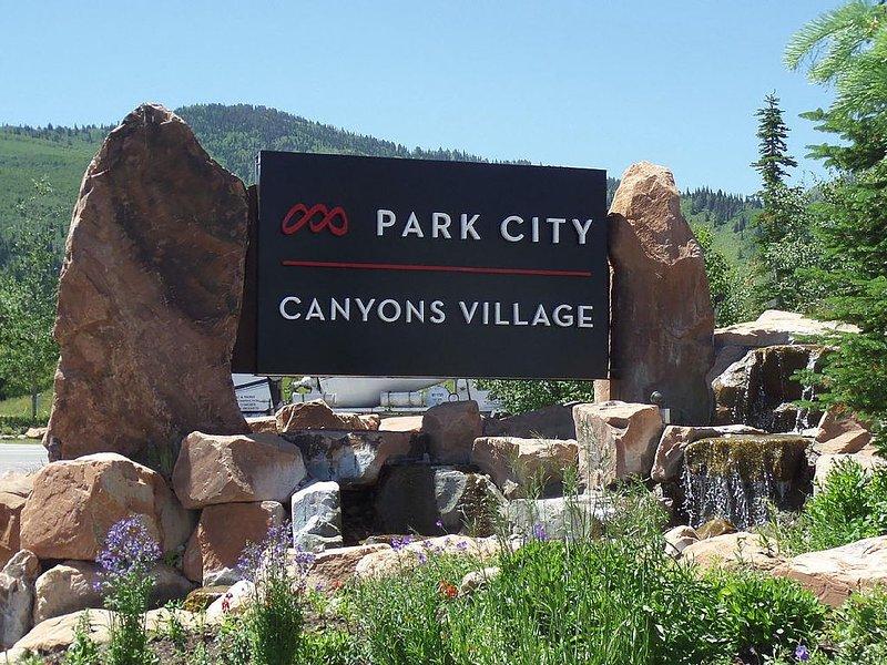 Bienvenue au Canyons Village à Park City Mountain Resort!
