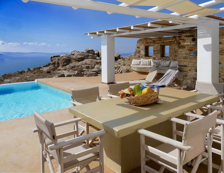Villa Ariadne - Naxos Grande Vista, aluguéis de temporada em Naxos